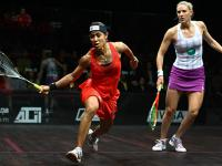 Nicol David & Laura Massaro