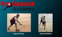 Pro Squash Academy - Conor D'Cruz & Tarek Shehata