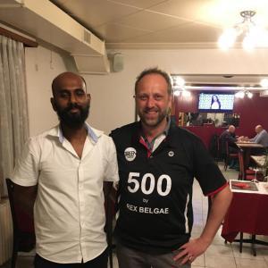 Christophe et Ashok (Restaurant le Chalet de la Blu00e9cherette)