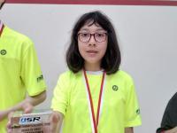 Izumi Laurenson - U13 - Girls - Championnats Romand Juniors 18/19